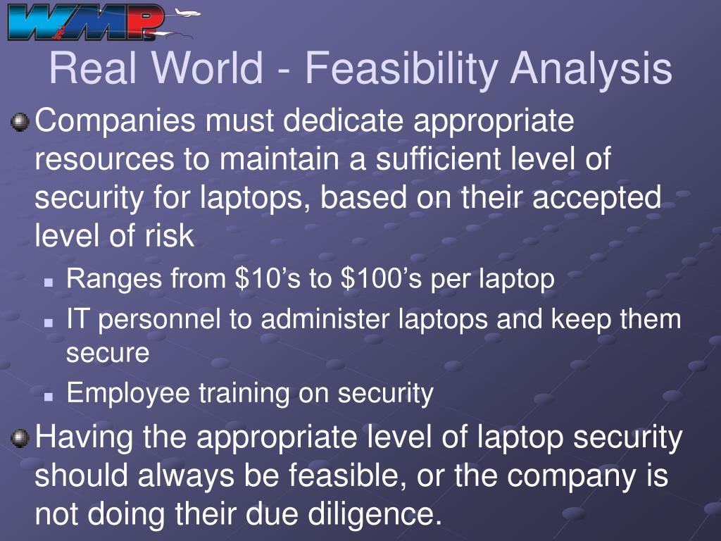 Real World - Feasibility Analysis