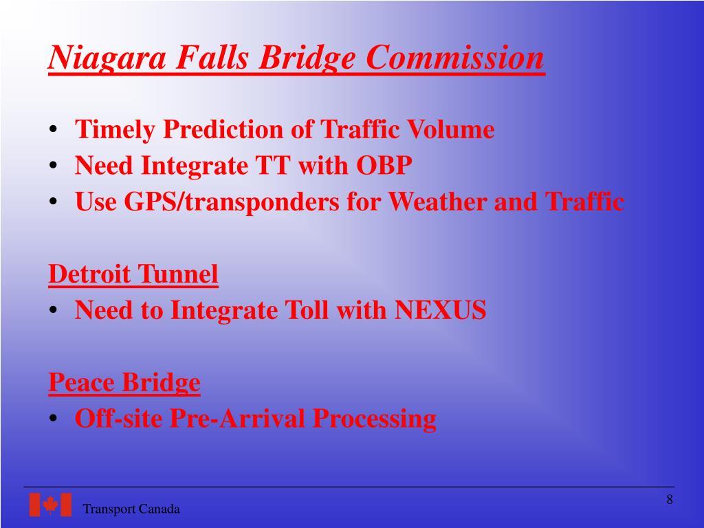 Niagara Falls Bridge Commission
