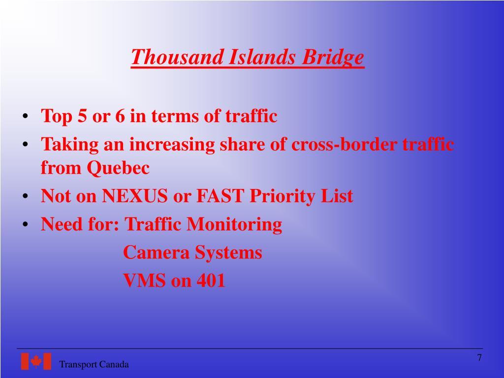 Thousand Islands Bridge