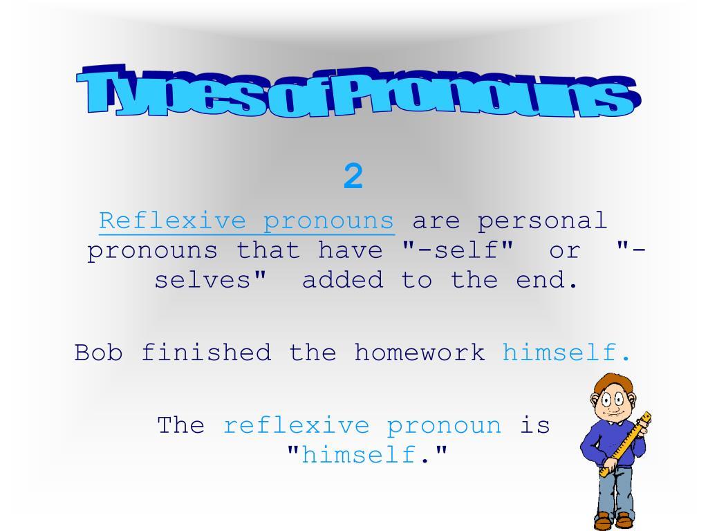 Types of Pronouns