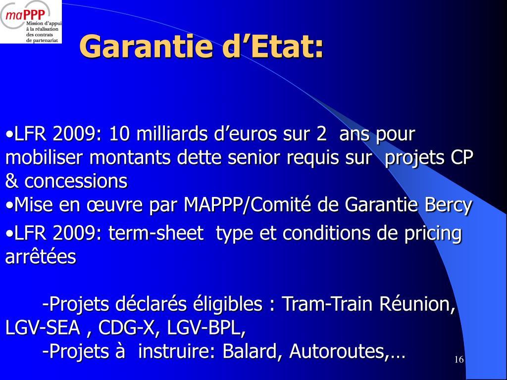 Garantie d'Etat: