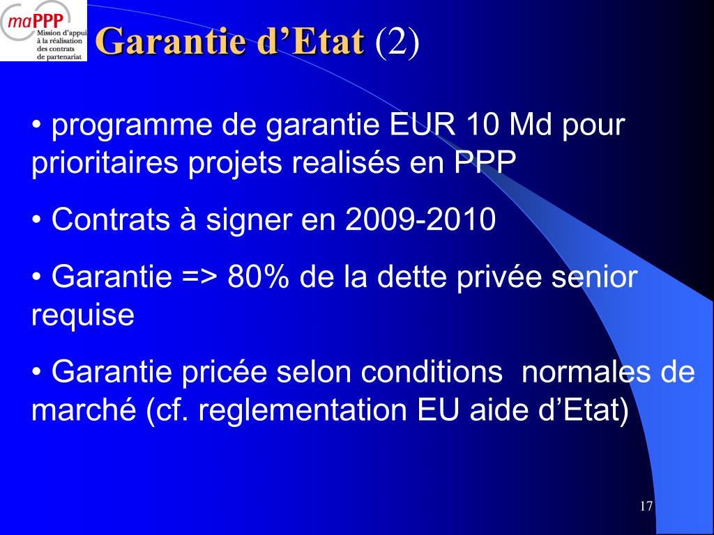 Garantie d'Etat