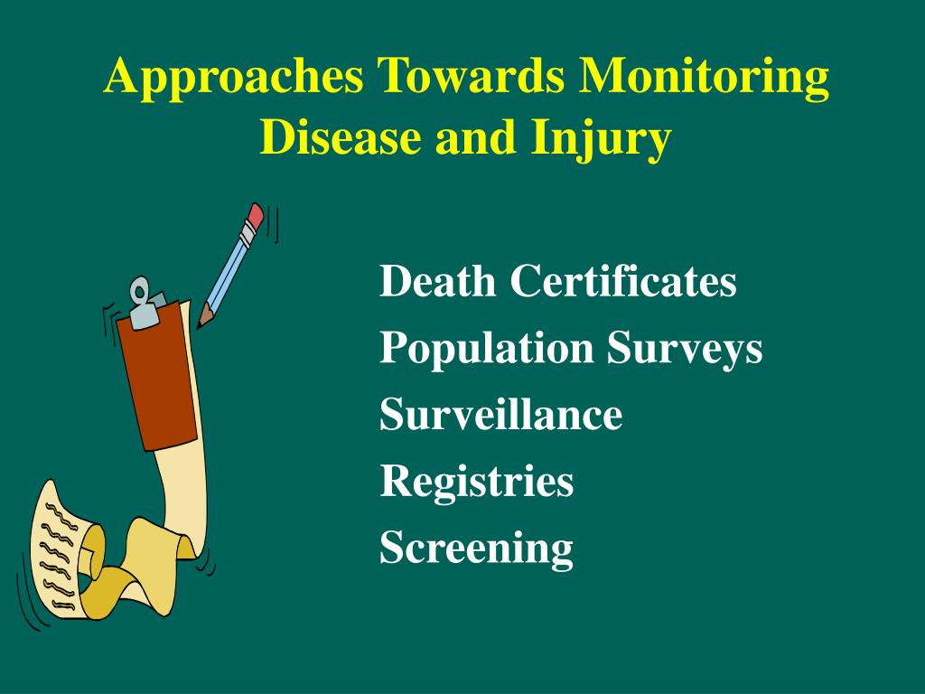 Approaches Towards Monitoring Disease and Injury