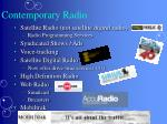 contemporary radio