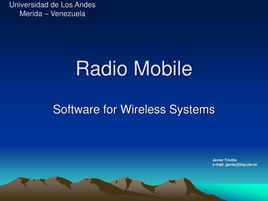 radio mobile l.