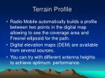 terrain profile