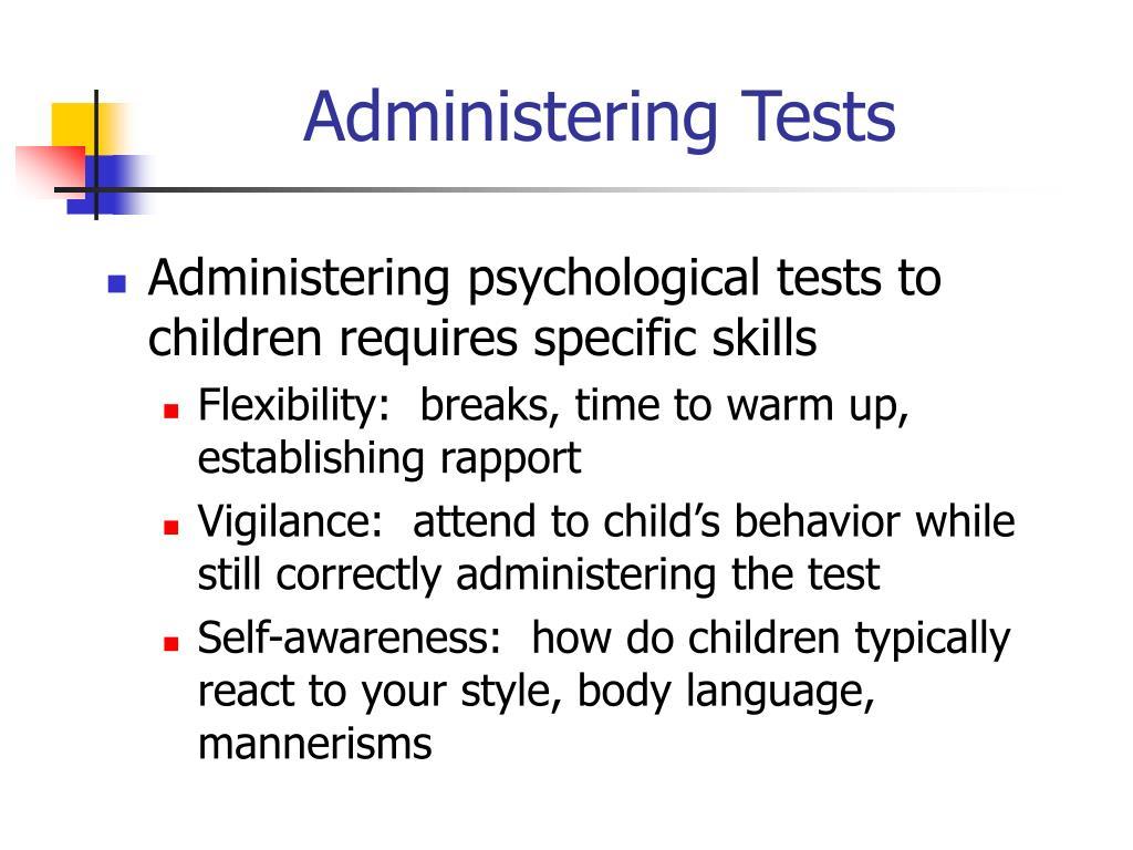 Psychological flexibility test
