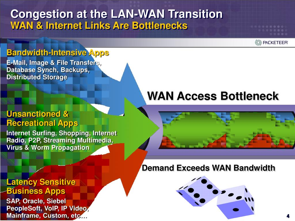 Congestion at the LAN-WAN Transition