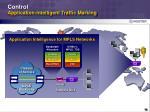 control application intelligent traffic marking