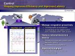 control shaping improves efficiency and improves latency
