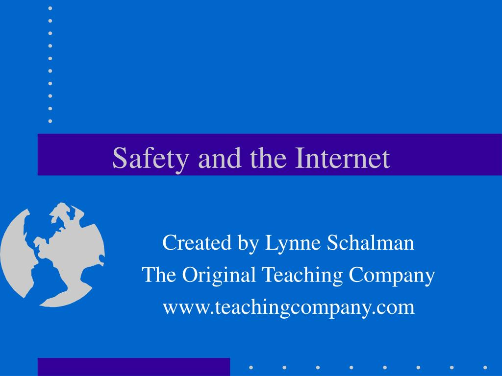 safety and the internet l.