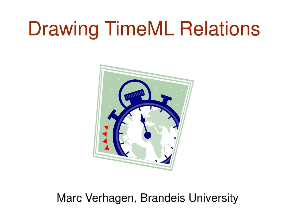 drawing timeml relations l.