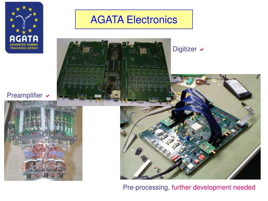 AGATA Electronics