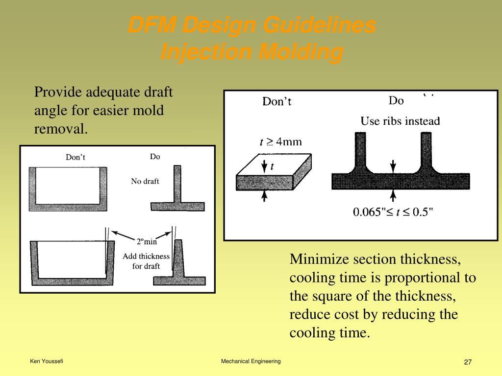 DFM Design Guidelines