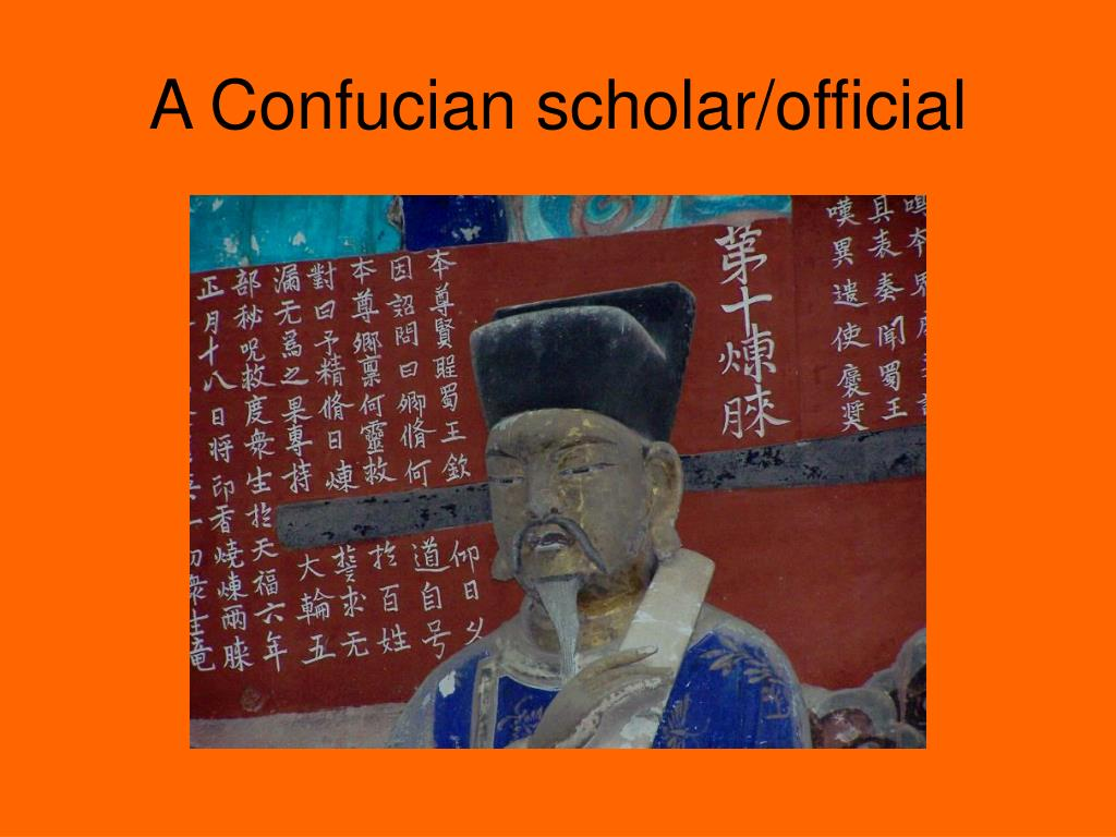 A Confucian scholar/official