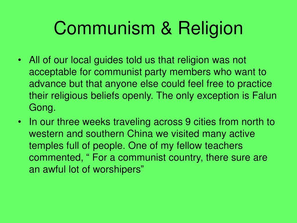 Communism & Religion
