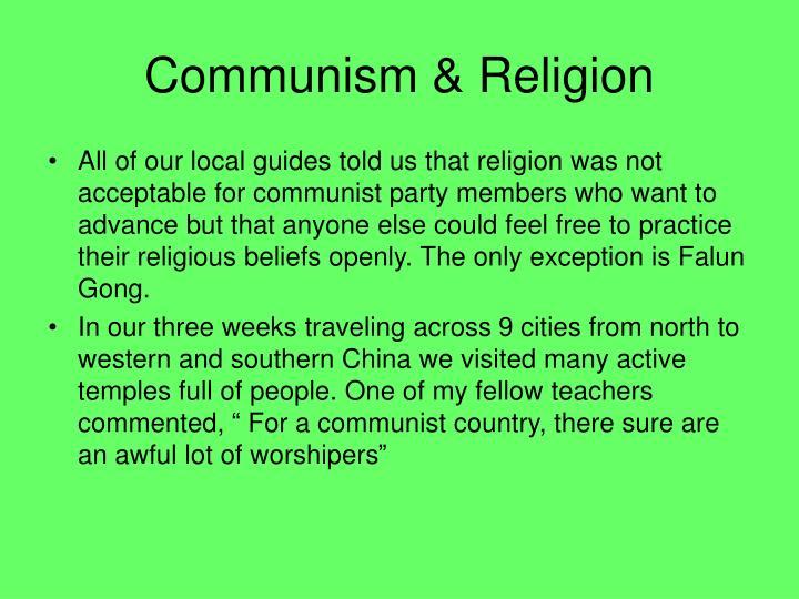 Communism religion