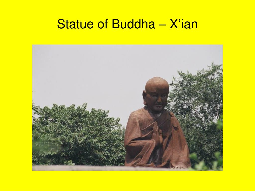 Statue of Buddha – X'ian