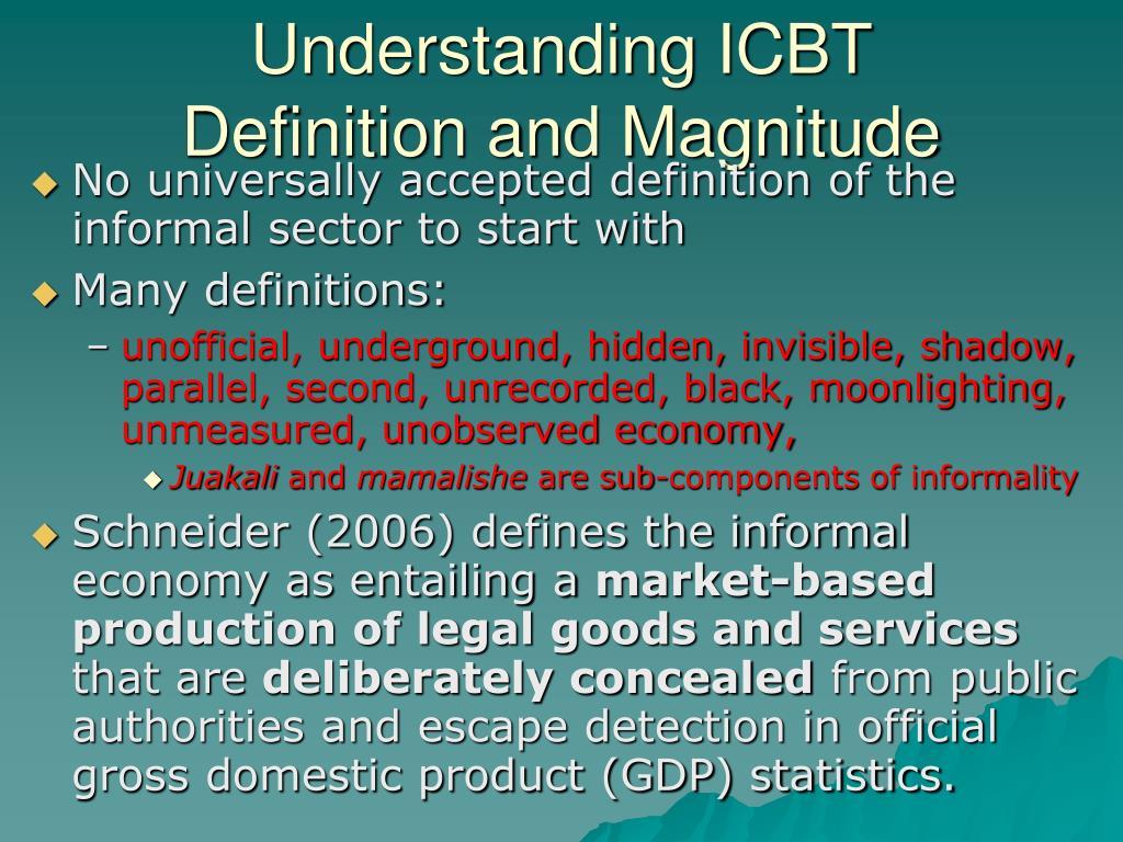 Understanding ICBT