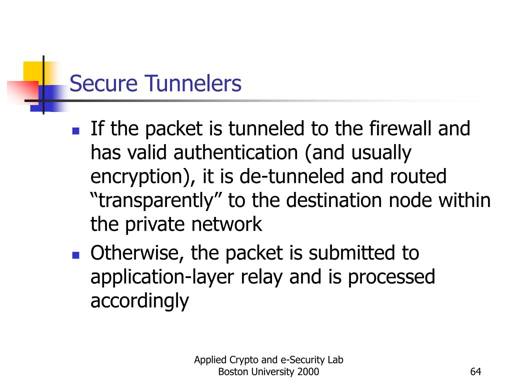 Secure Tunnelers