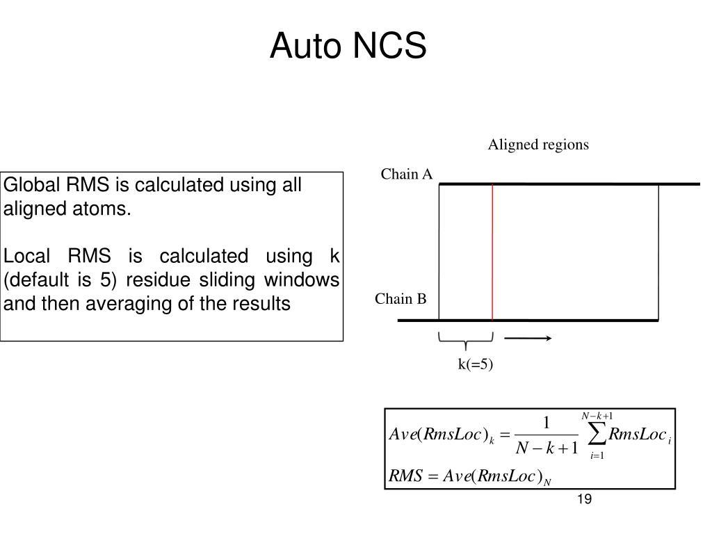 Auto NCS
