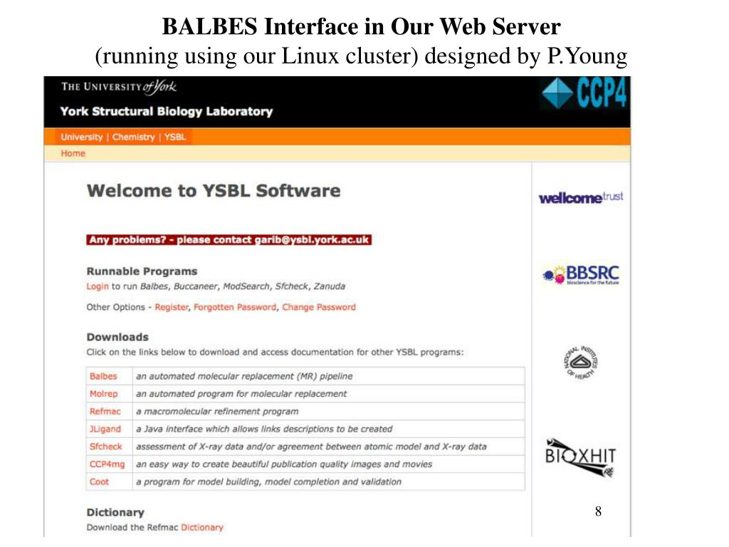 BALBES Interface in Our Web Server