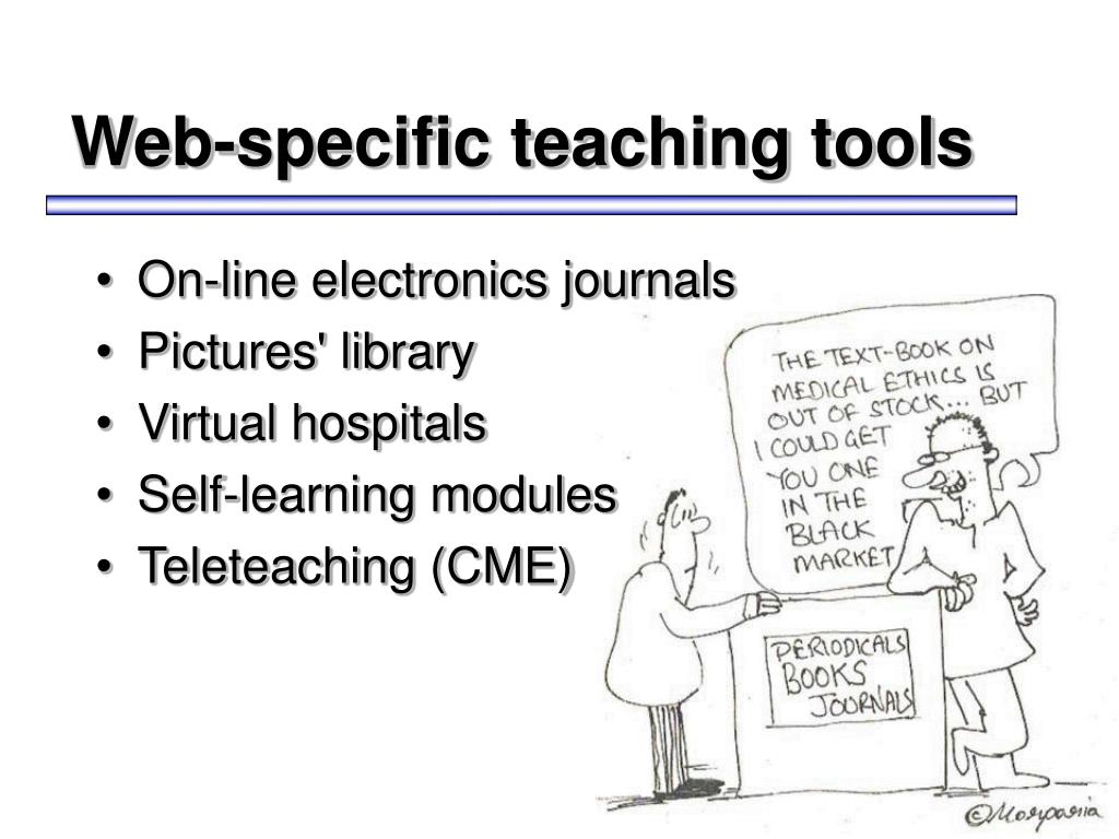 Web-specific teaching tools