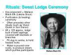 rituals sweat lodge ceremony