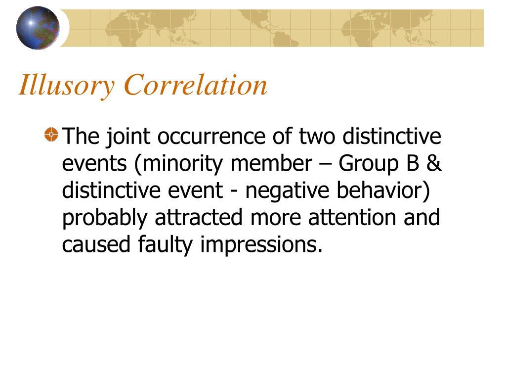 Illusory Correlation