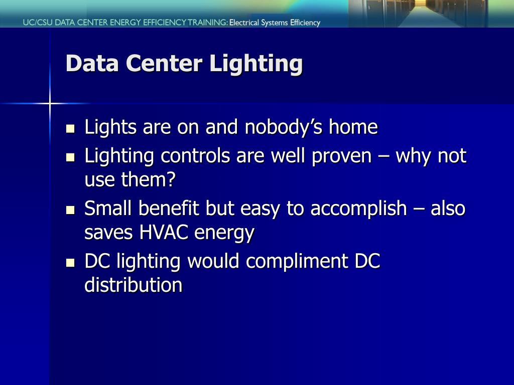 Data Center Lighting