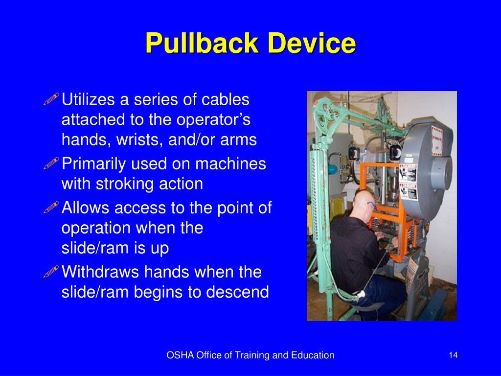 Pullback Device