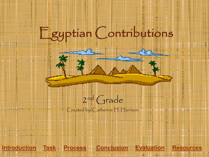 egyptian contributions n.
