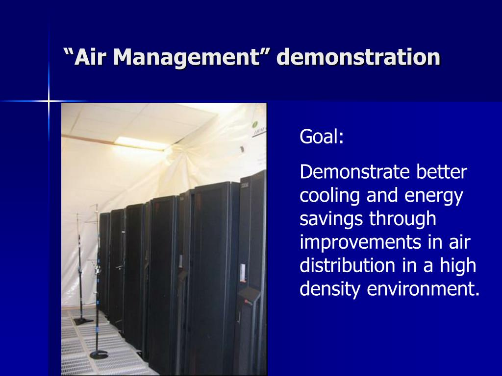 """Air Management"" demonstration"