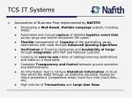 tcs it systems