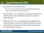 truck phase out plan