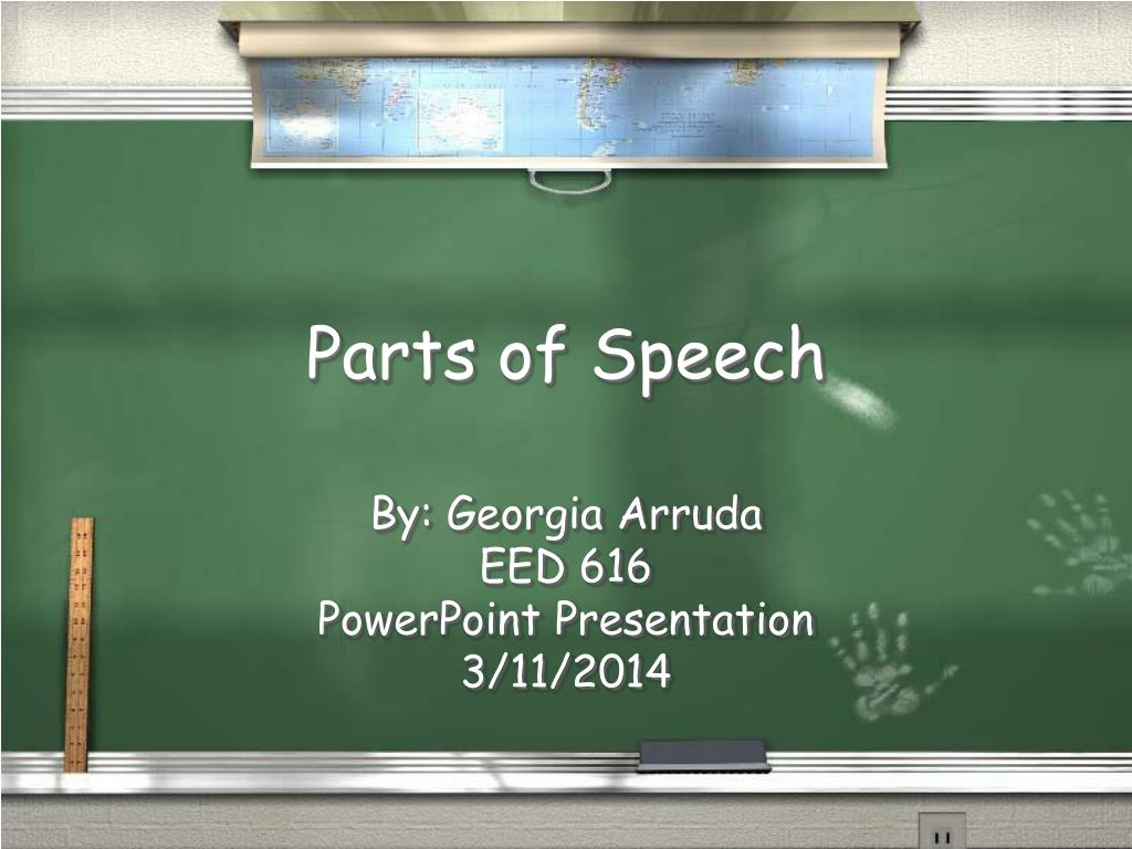 parts of speech l.
