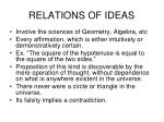 relations of ideas