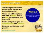 grains and pulses