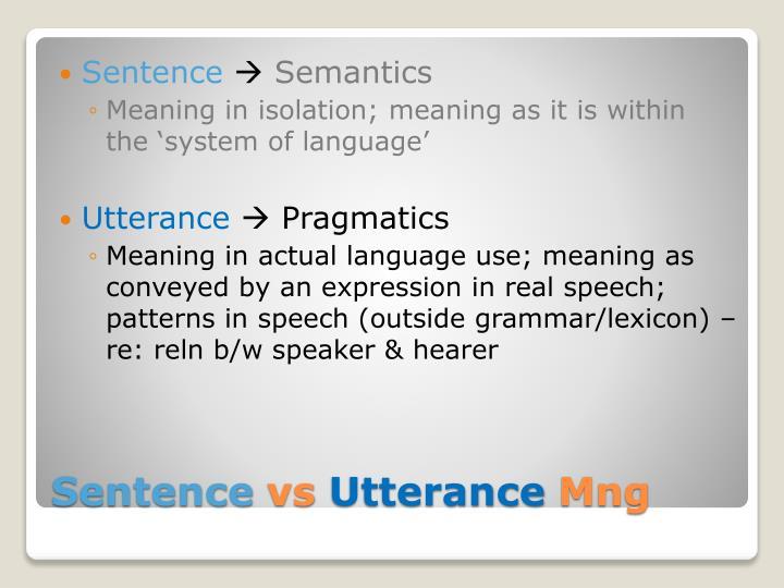 Sentence