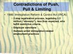contradictions of push pull limiting24