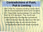 contradictions of push pull limiting26