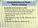 contradictions of push pull limiting29