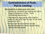 contradictions of push pull limiting31