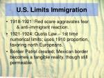 u s limits immigration12