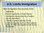 u s limits immigration13