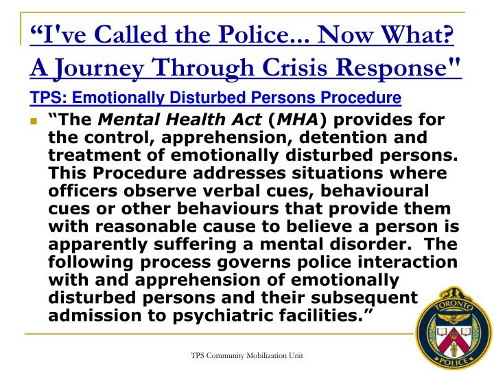 I ve called the police now what a journey through crisis response1