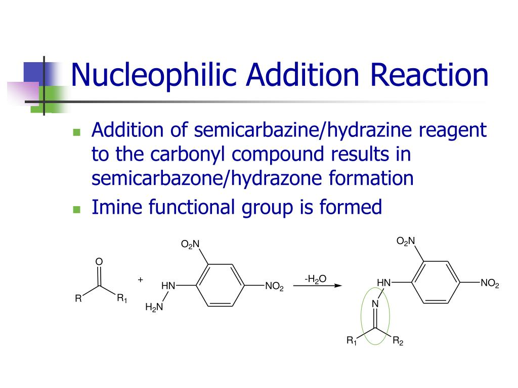 Nucleophilic Addition Reaction