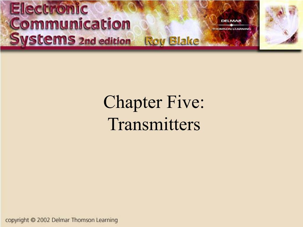 chapter five transmitters l.