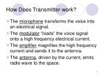 how does transmitter work