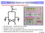 what s next towards sub 100 w transceiver11